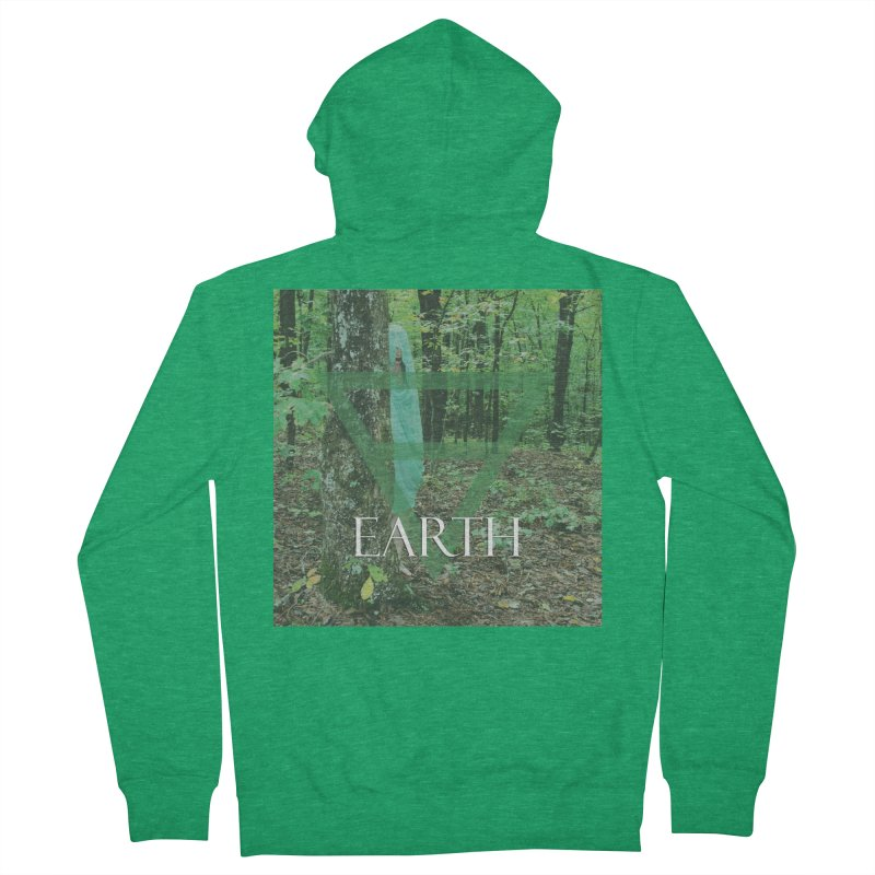 Elements Vol. 1 - Earth Men's French Terry Zip-Up Hoody by Venus Aeon (clothing)