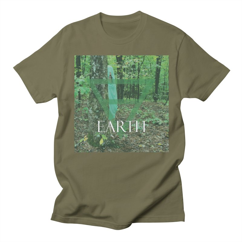 Elements Vol. 1 - Earth Men's Regular T-Shirt by Venus Aeon (clothing)