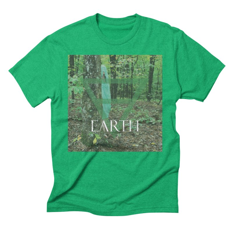 Elements Vol. 1 - Earth Men's Triblend T-Shirt by Venus Aeon (clothing)