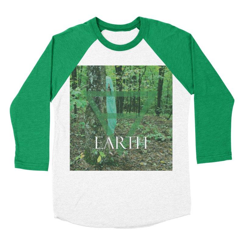 Elements Vol. 1 - Earth Women's Baseball Triblend Longsleeve T-Shirt by Venus Aeon (clothing)