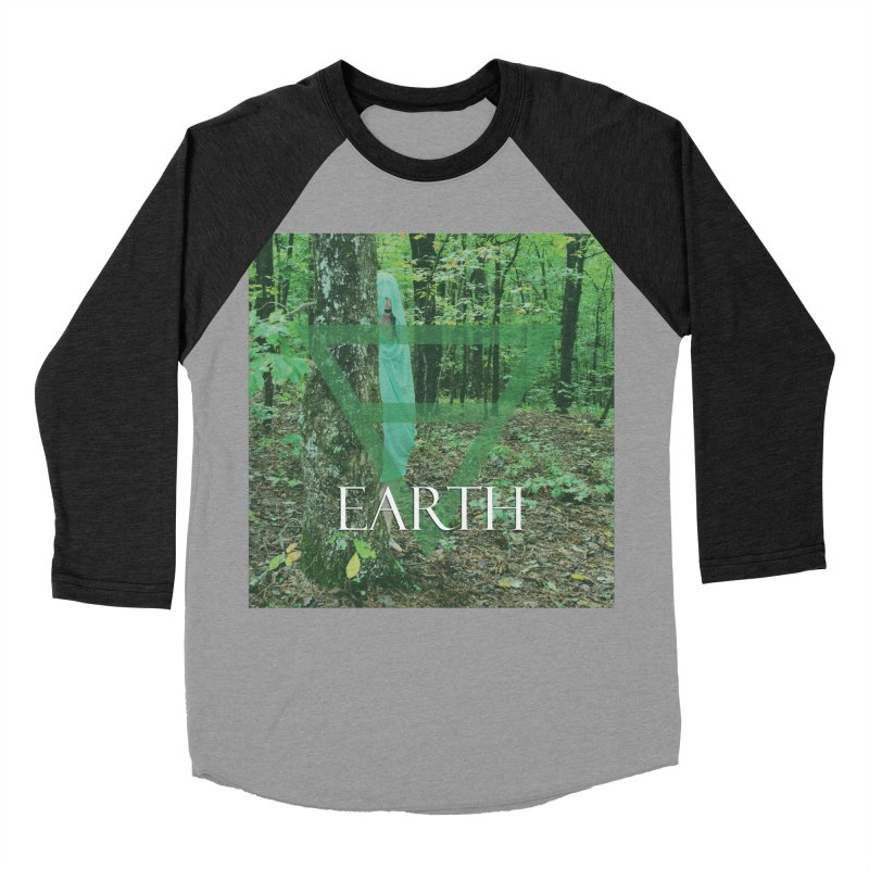 Elements Vol. 1 - Earth Men's Baseball Triblend T-Shirt by Venus Aeon (clothing)