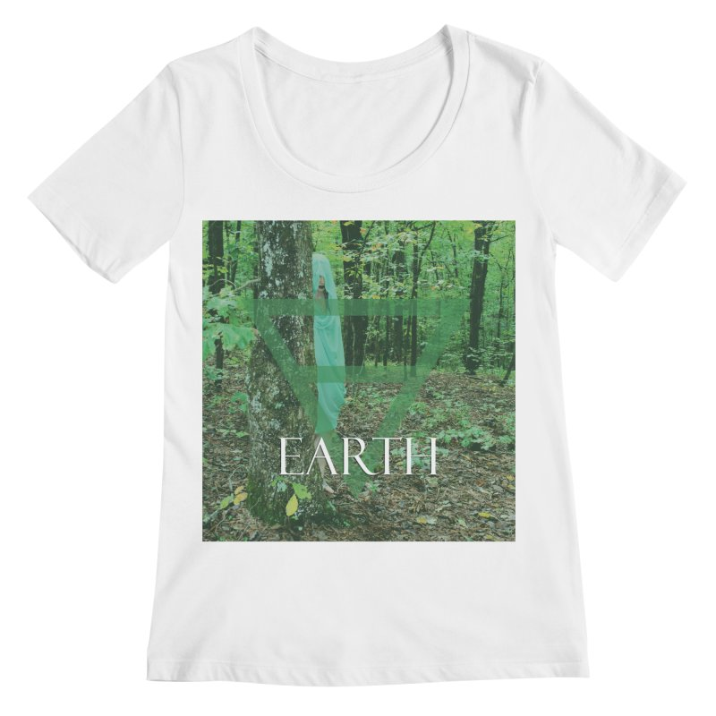 Elements Vol. 1 - Earth Women's Regular Scoop Neck by Venus Aeon (clothing)