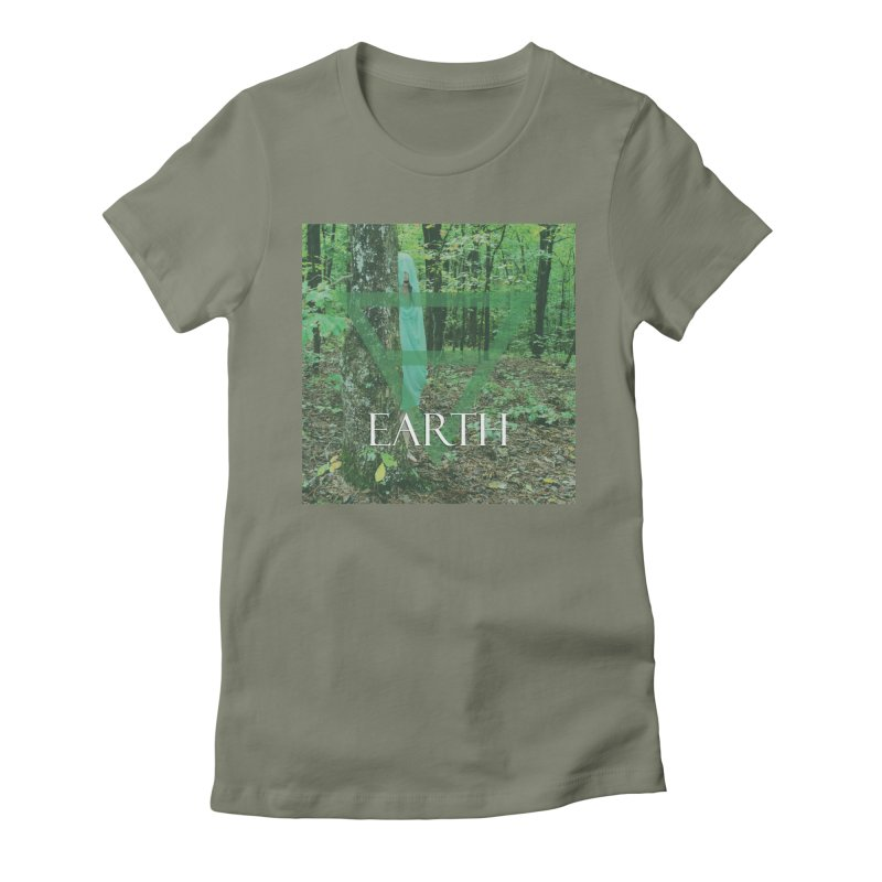 Elements Vol. 1 - Earth Women's T-Shirt by Venus Aeon (clothing)