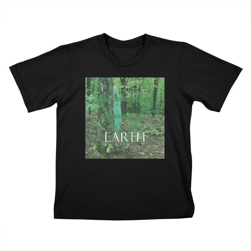 Elements Vol. 1 - Earth Kids T-Shirt by Venus Aeon (clothing)