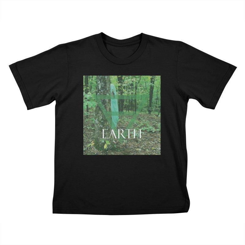 Elements Vol. 1 - Earth Kids T-Shirt by Venus Aeon (clothing)