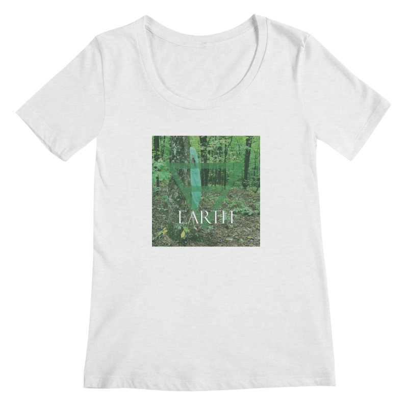 Elements Vol. 1 - Earth Women's Scoop Neck by Venus Aeon (clothing)
