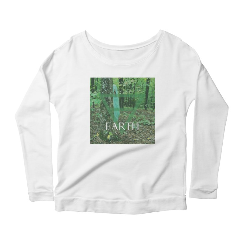 Elements Vol. 1 - Earth Women's Longsleeve Scoopneck  by Venus Aeon (clothing)