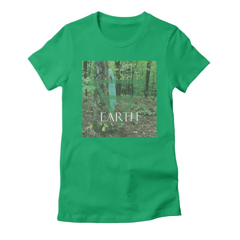 Elements Vol. 1 - Earth Women's Fitted T-Shirt by Venus Aeon (clothing)