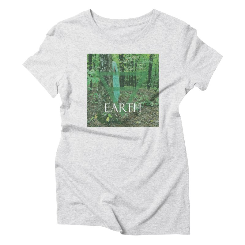 Elements Vol. 1 - Earth Women's Triblend T-Shirt by Venus Aeon (clothing)