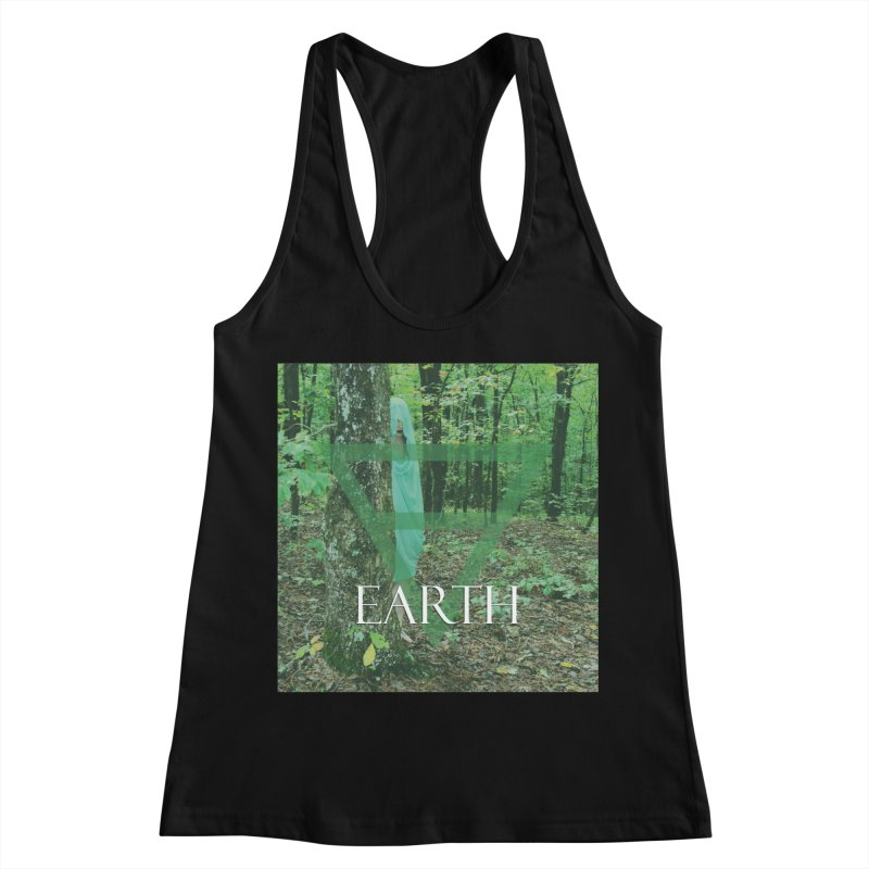 Elements Vol. 1 - Earth Women's Racerback Tank by Venus Aeon (clothing)