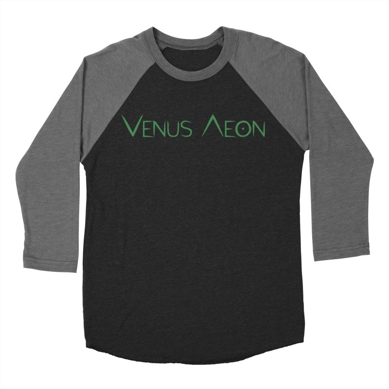 Venus Aeon (green) Women's Baseball Triblend Longsleeve T-Shirt by Venus Aeon (clothing)