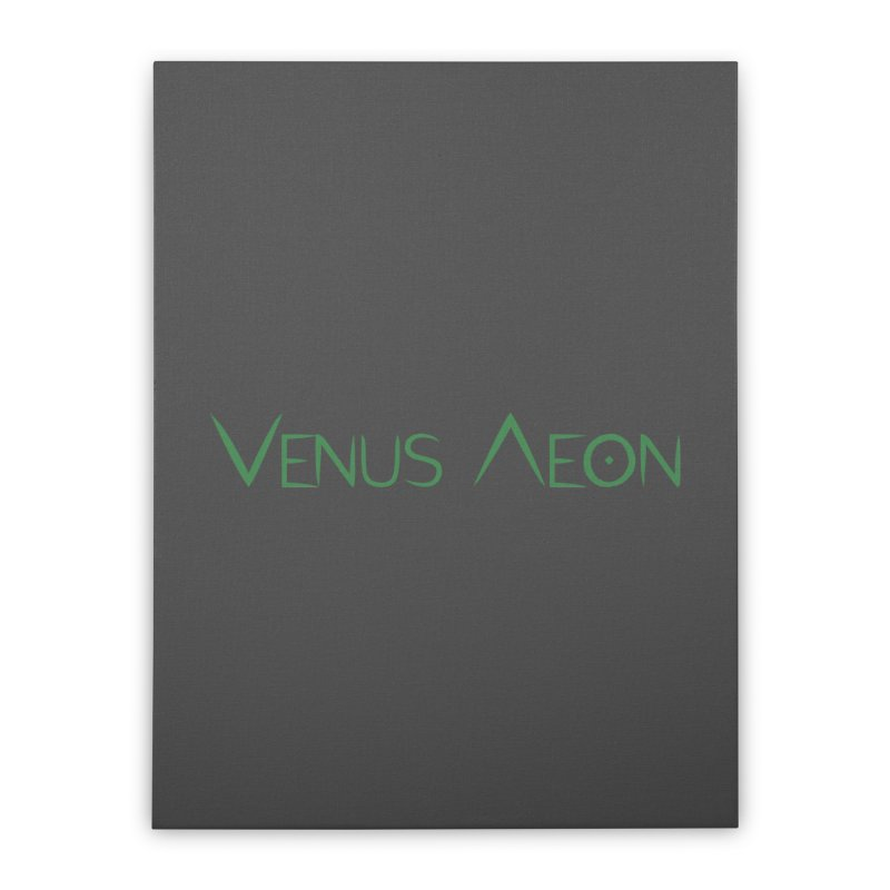 Venus Aeon (green) Home Stretched Canvas by Venus Aeon (clothing)