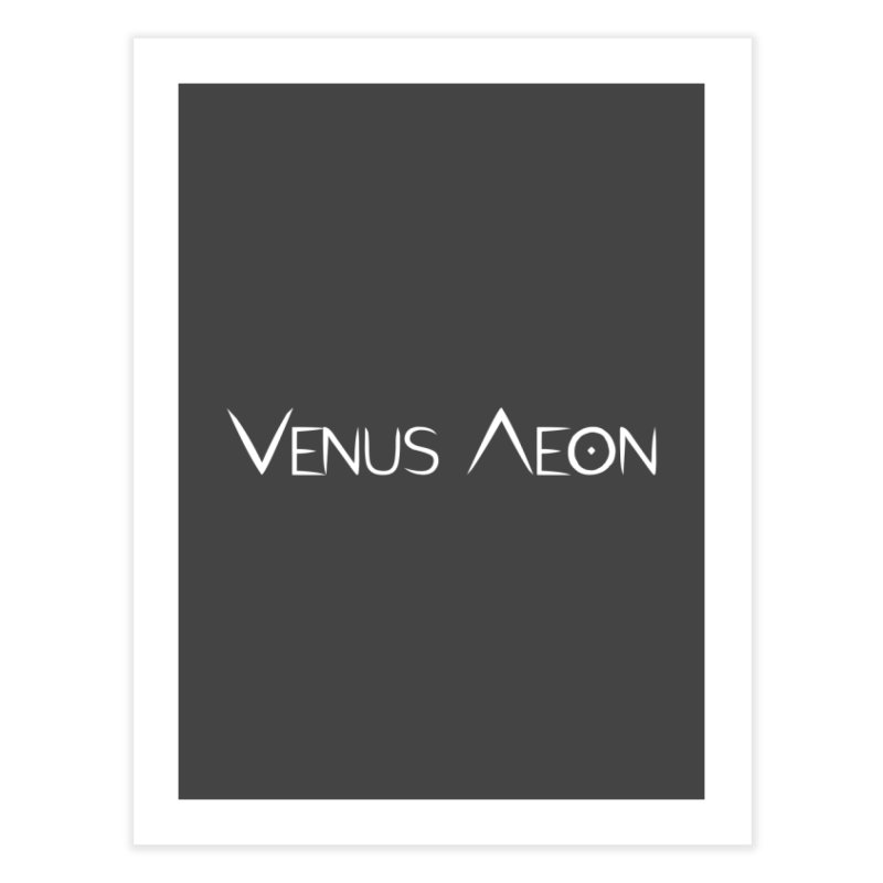 Venus Aeon (white) Home Fine Art Print by Venus Aeon (clothing)