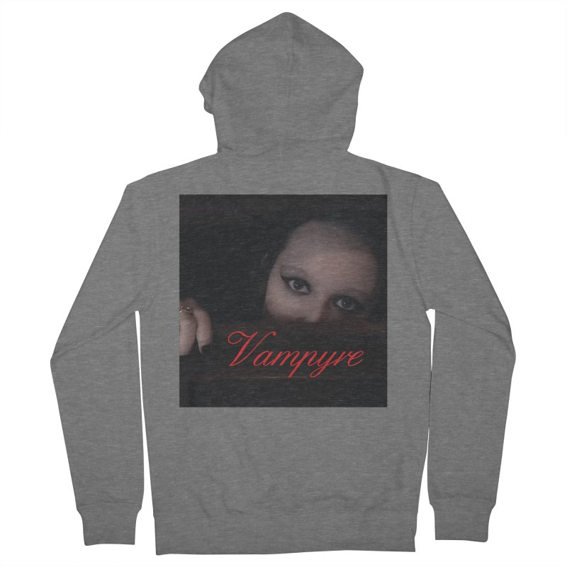 Vampyre Men's Zip-Up Hoody by Venus Aeon (clothing)