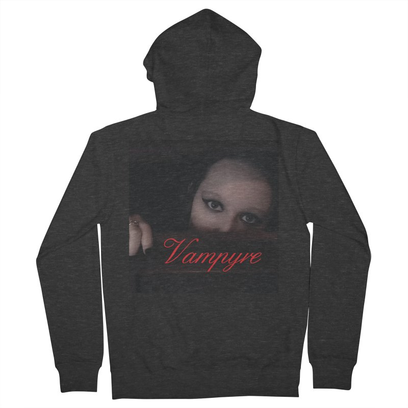 Vampyre Men's Zip-Up Hoody by Venus Aeon (clothing)