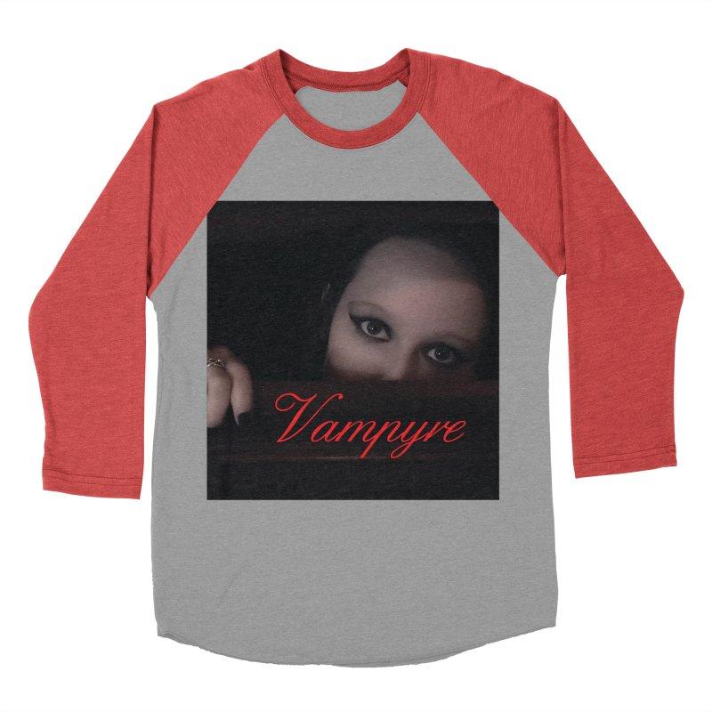 Vampyre Women's Baseball Triblend Longsleeve T-Shirt by Venus Aeon (clothing)