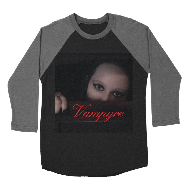 Vampyre Women's Baseball Triblend Longsleeve T-Shirt by Venus Aeon (clothing)