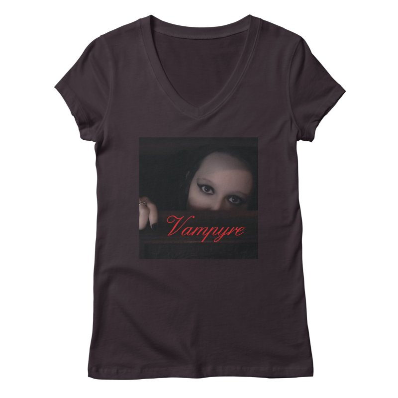 Vampyre Women's V-Neck by Venus Aeon (clothing)