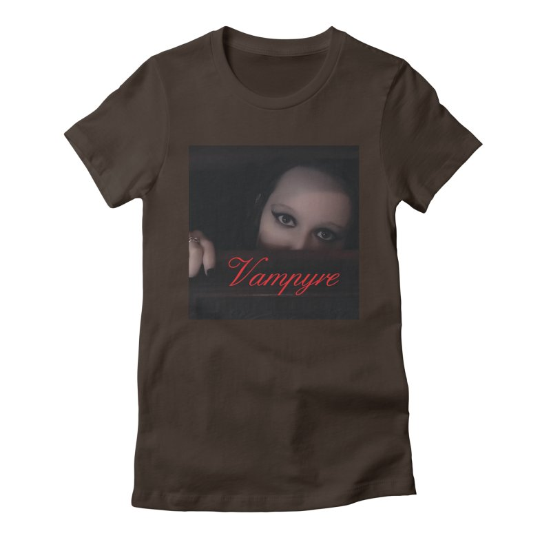 Vampyre Women's Fitted T-Shirt by Venus Aeon (clothing)