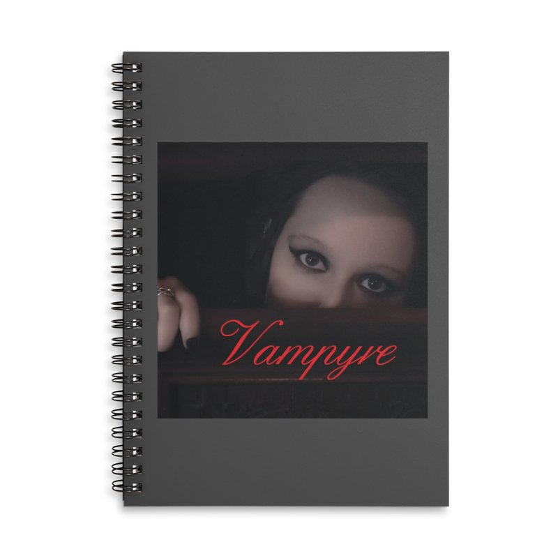Vampyre Accessories Lined Spiral Notebook by Venus Aeon (clothing)