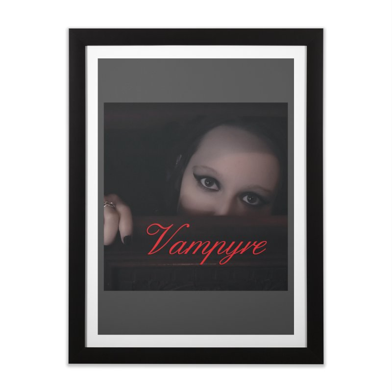 Vampyre Home Framed Fine Art Print by Venus Aeon (clothing)