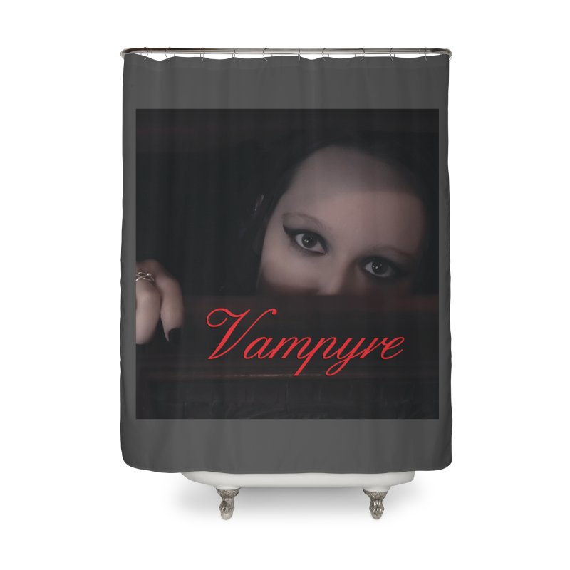 Vampyre Home Shower Curtain by Venus Aeon (clothing)