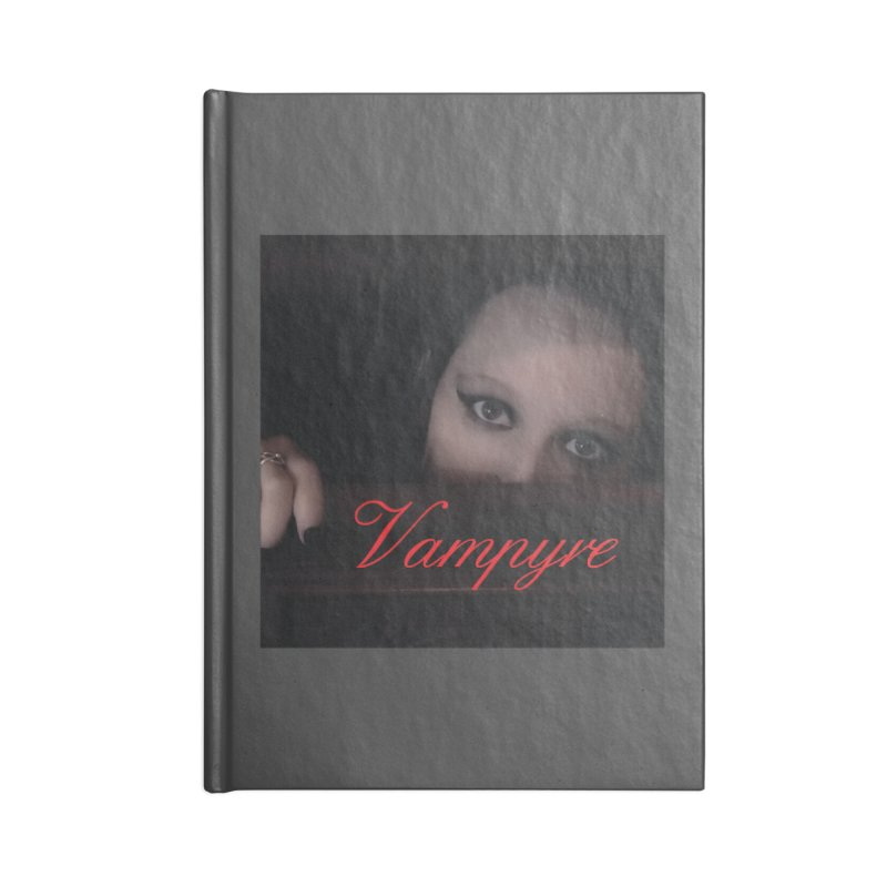 Vampyre Accessories Lined Journal Notebook by Venus Aeon (clothing)