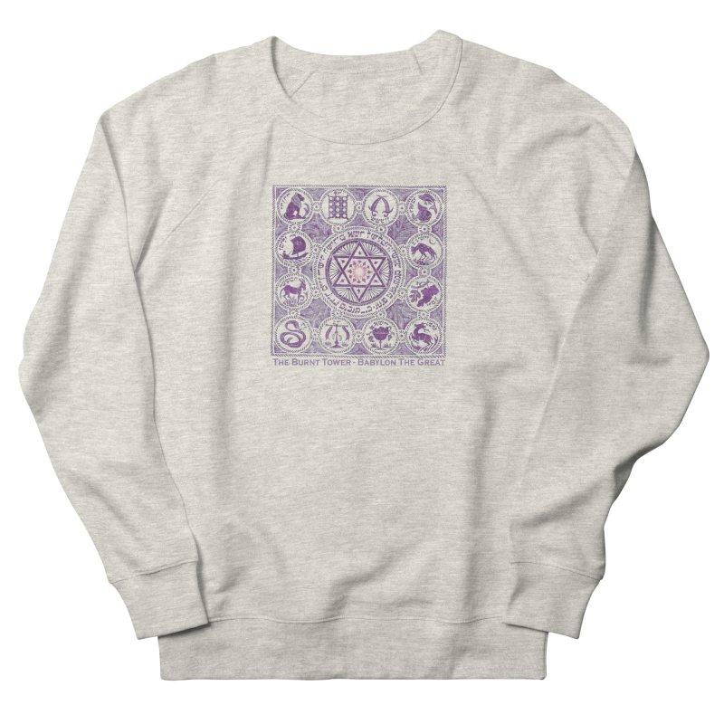JOHN 3:16 The Burnt Tower / Babylon The Great (Alrealon Musique) Women's Sweatshirt by Venus Aeon (clothing)