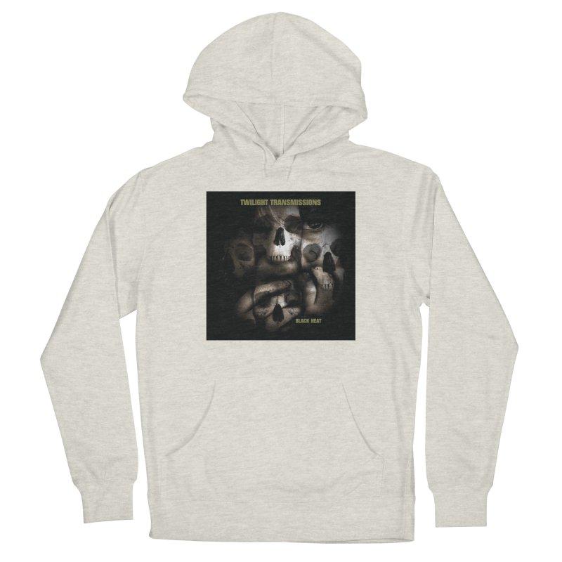 Twilight Transmissions - Black Heat Men's Pullover Hoody by Venus Aeon (clothing)