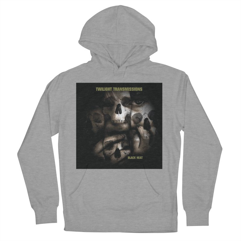 Twilight Transmissions - Black Heat Men's Pullover Hoody by Venus Aeon (clothing)