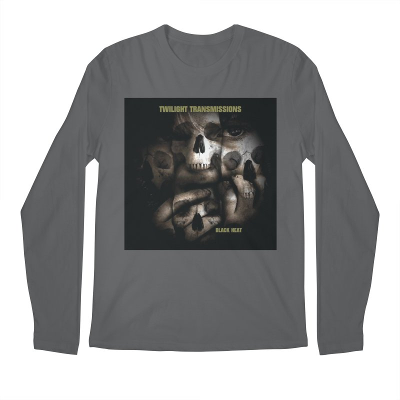 Twilight Transmissions - Black Heat Men's Longsleeve T-Shirt by Venus Aeon (clothing)