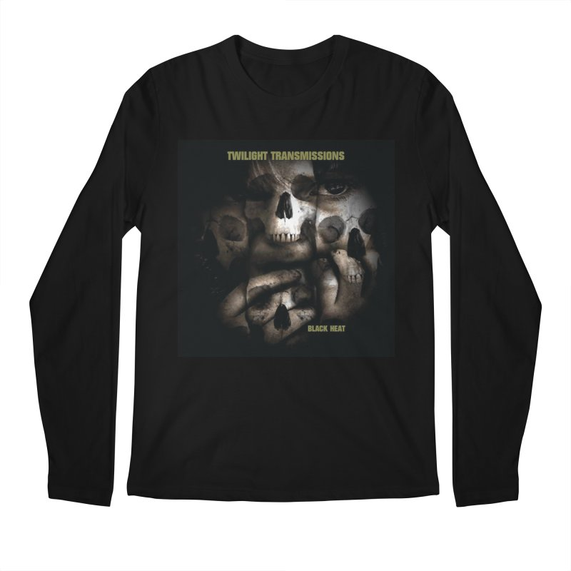Twilight Transmissions - Black Heat Men's Regular Longsleeve T-Shirt by Venus Aeon (clothing)
