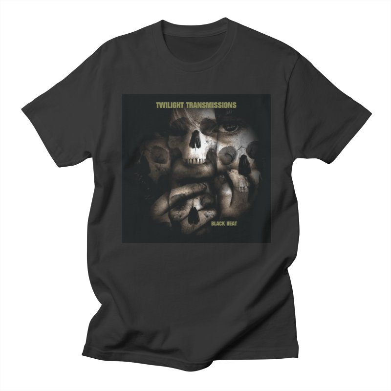 Twilight Transmissions - Black Heat Men's T-Shirt by Venus Aeon (clothing)