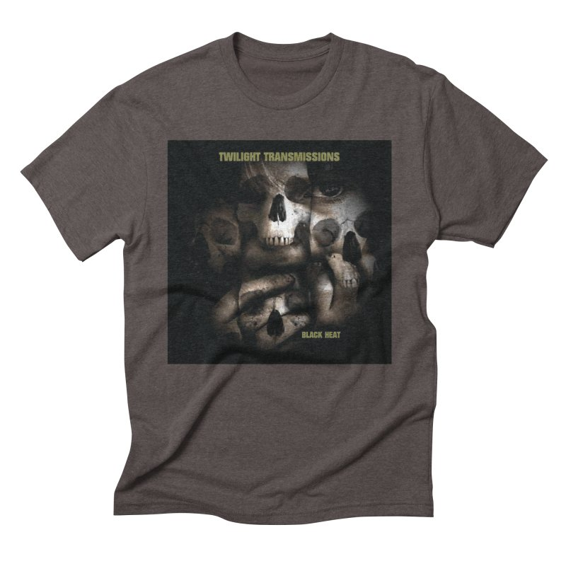 Twilight Transmissions - Black Heat Men's Triblend T-Shirt by Venus Aeon (clothing)