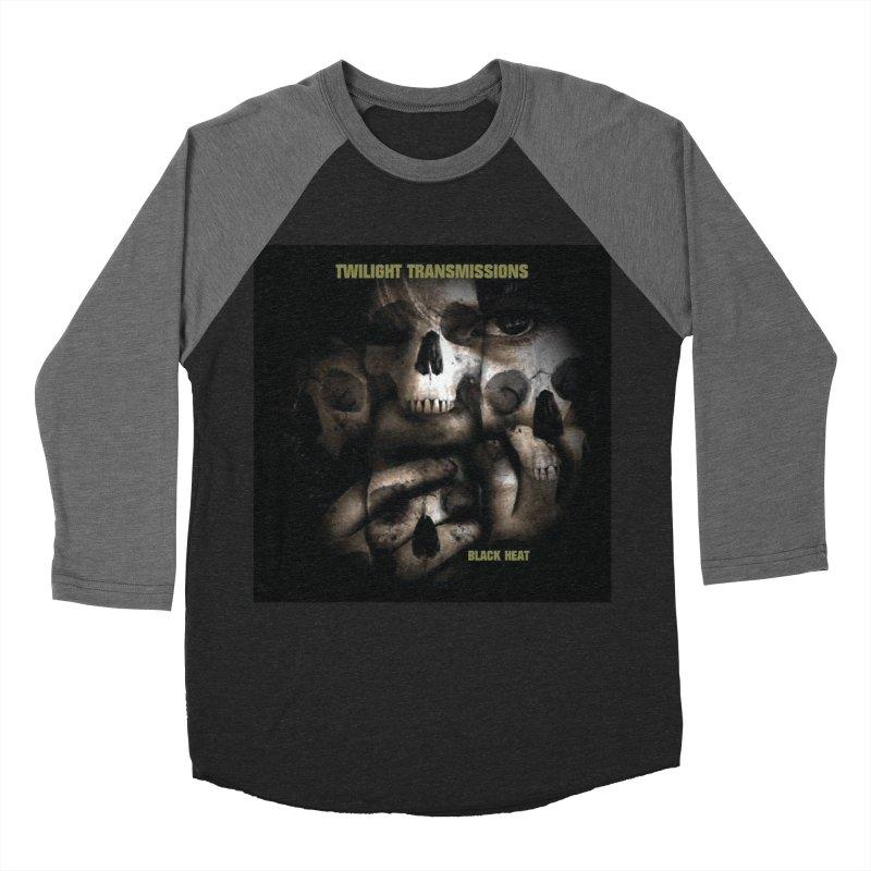 Twilight Transmissions - Black Heat Women's Baseball Triblend Longsleeve T-Shirt by Venus Aeon (clothing)