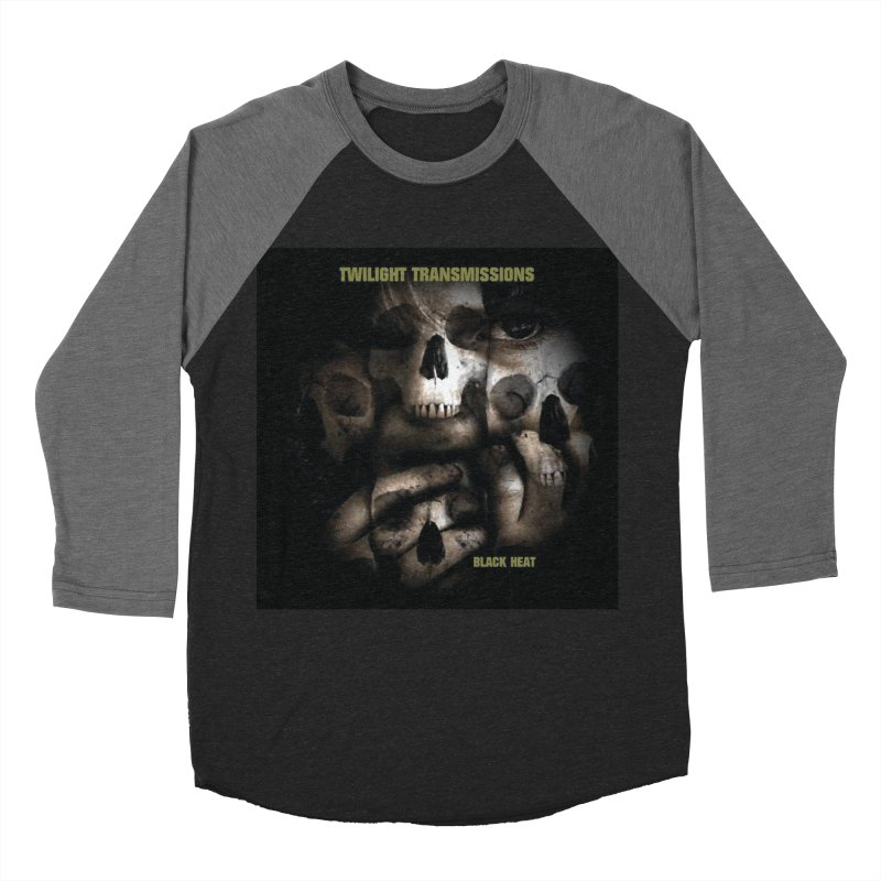 Twilight Transmissions - Black Heat Men's Baseball Triblend T-Shirt by Venus Aeon (clothing)