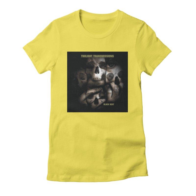 Twilight Transmissions - Black Heat Women's T-Shirt by Venus Aeon (clothing)