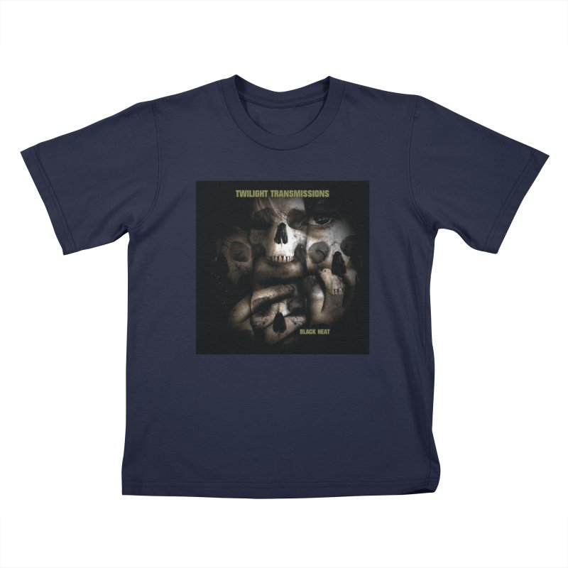 Twilight Transmissions - Black Heat Kids T-Shirt by Venus Aeon (clothing)