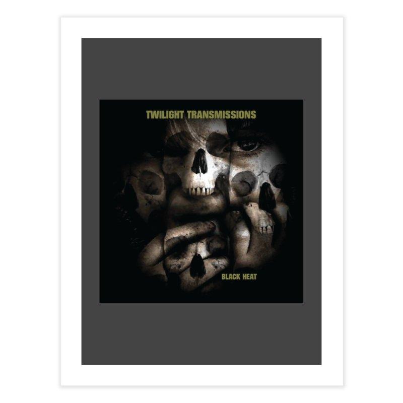 Twilight Transmissions - Black Heat Home Fine Art Print by Venus Aeon (clothing)