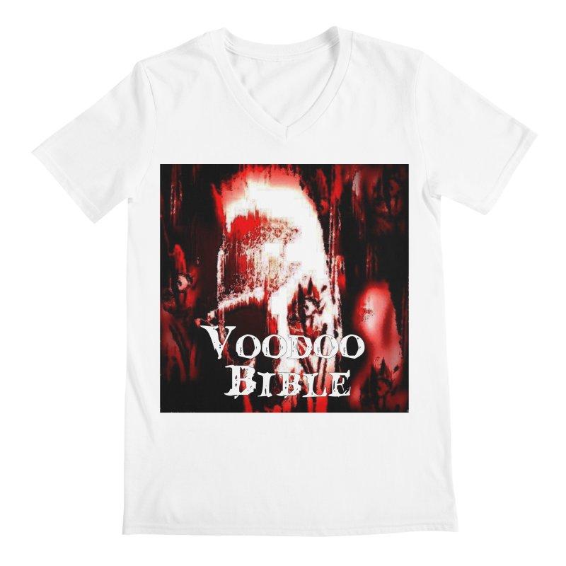 "Voodoo Bible - ""Black Tarot"" Men's V-Neck by Venus Aeon (clothing)"
