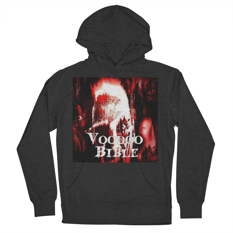 """Voodoo Bible - """"Black Tarot"""" Men's French Terry Pullover Hoody by Venus Aeon (clothing)"""