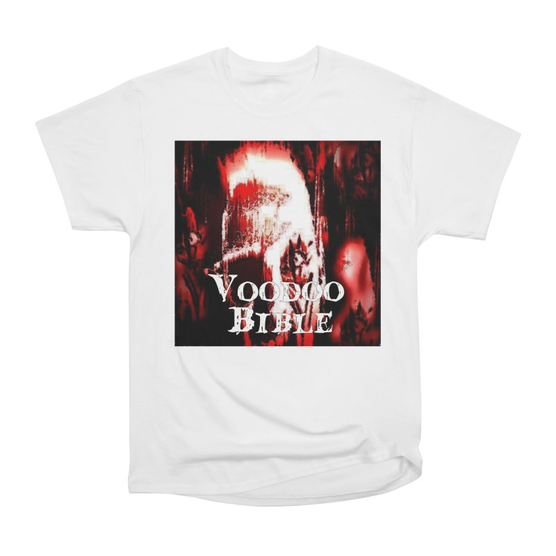 "Voodoo Bible - ""Black Tarot"" Women's Heavyweight Unisex T-Shirt by Venus Aeon (clothing)"