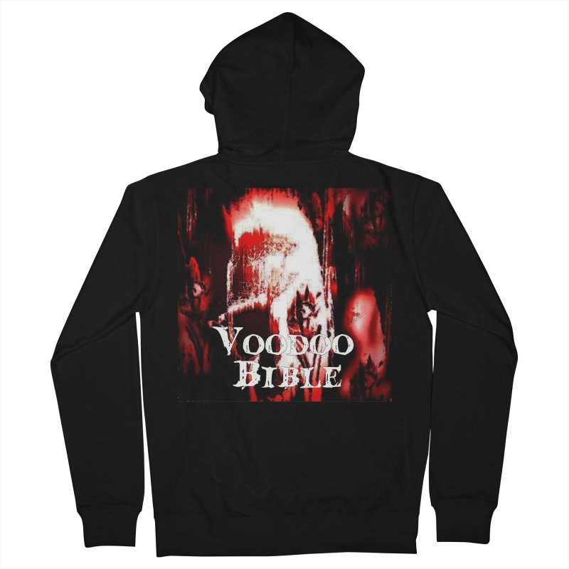 """Voodoo Bible - """"Black Tarot"""" Men's Zip-Up Hoody by Venus Aeon (clothing)"""