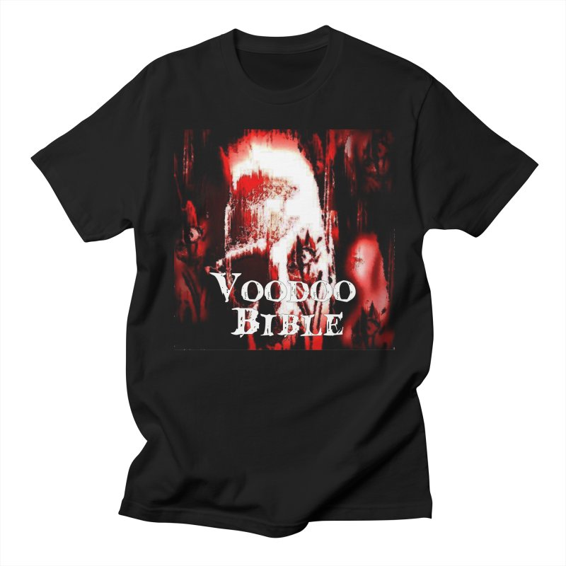 "Voodoo Bible - ""Black Tarot"" in Men's T-shirt Black by Venus Aeon (clothing)"