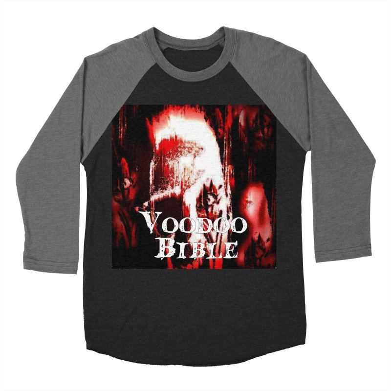 "Voodoo Bible - ""Black Tarot"" Men's Baseball Triblend Longsleeve T-Shirt by Venus Aeon (clothing)"
