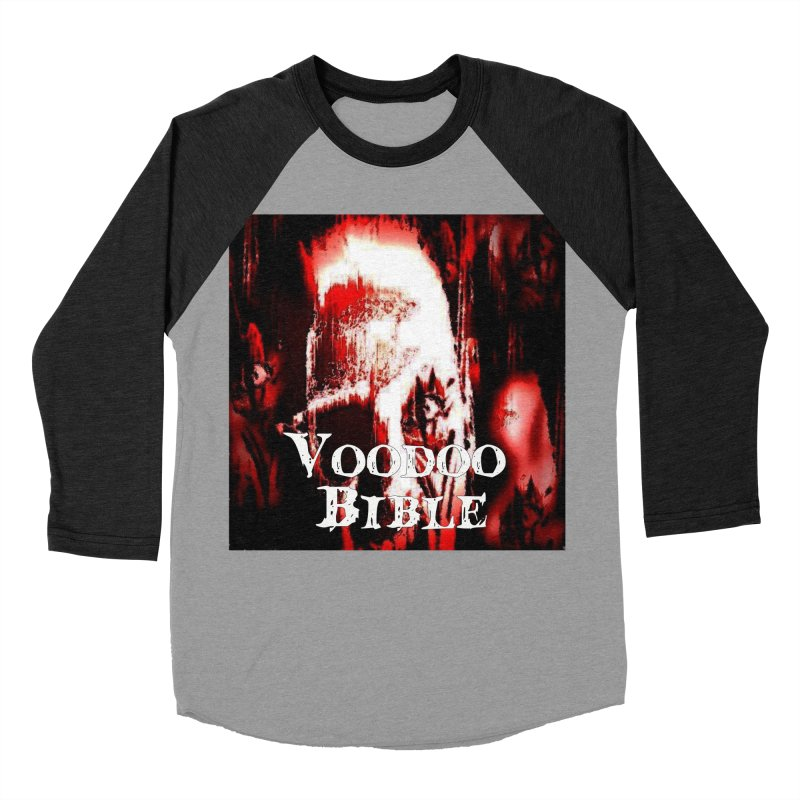 "Voodoo Bible - ""Black Tarot"" Men's Baseball Triblend T-Shirt by Venus Aeon (clothing)"