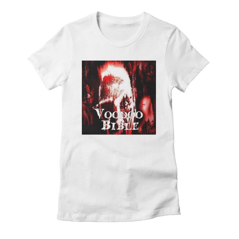 "Voodoo Bible - ""Black Tarot"" Women's Fitted T-Shirt by Venus Aeon (clothing)"