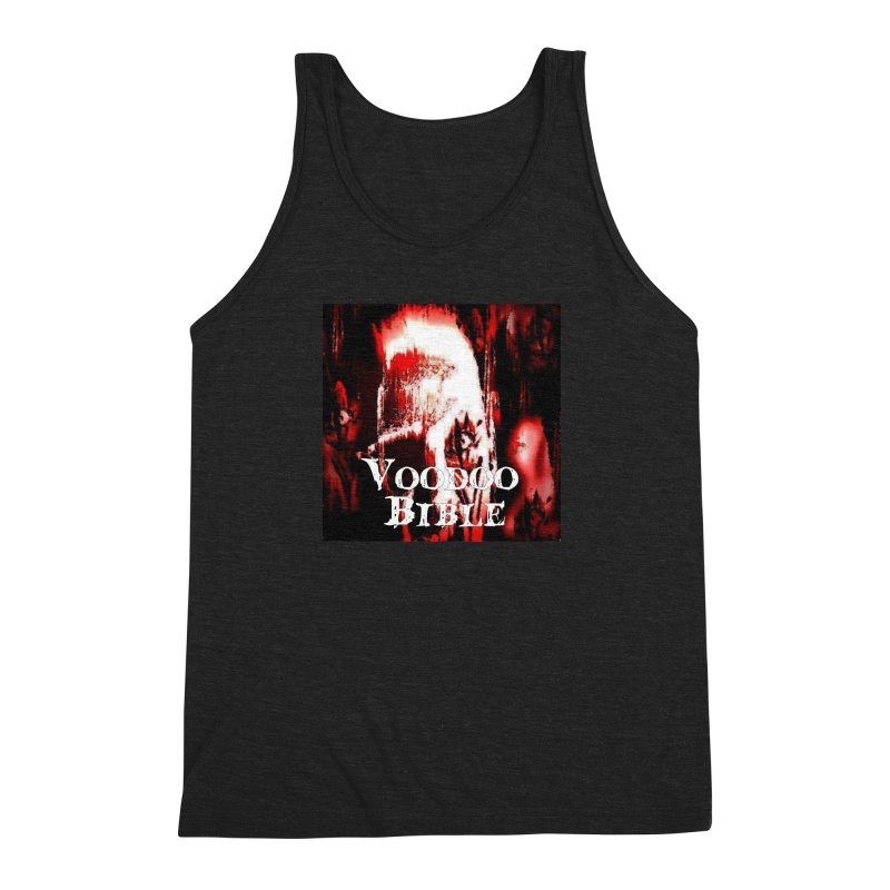 "Voodoo Bible - ""Black Tarot"" Men's Tank by Venus Aeon (clothing)"