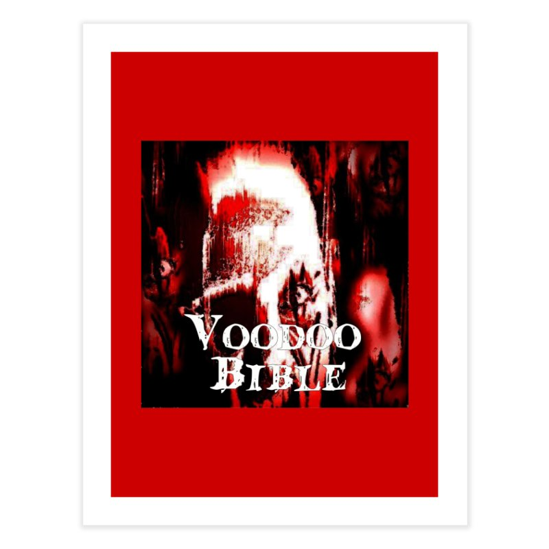 "Voodoo Bible - ""Black Tarot"" Home Fine Art Print by Venus Aeon (clothing)"