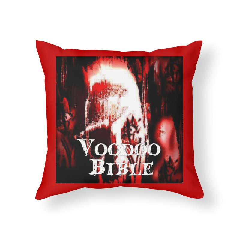 "Voodoo Bible - ""Black Tarot"" Home Throw Pillow by Venus Aeon (clothing)"